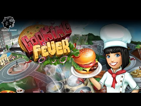 COOKING FEVER GAMEPLAY - #34 | FAST FOOD COURT LEVEL 34 COMPLETED |