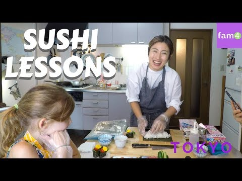 Sushi Lessons In Japan At TripAdvisor's #1 Cooking School (Ep.  27) - Family Travel Channel