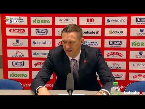 """""""Betsafe–LKL"""" rungtynių komentarai: """"Juventus"""" - """"Pieno žvaigždės"""" [2018-10-03]"""