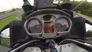 3. BMW R 1200 RT 0-100 km/h (0-60 mph) & 0-200 km/h (0-125 mph) acceleration