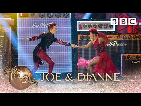 Joe & Dianne Show Dance to 'I Bet That You Look Good On The Dancefloor' - BBC Strictly 2018