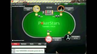 POKER LAG Auf POKERSTARS SNG 1,5$ (Pokerschule Deutsch Kommentiert) Teil 5