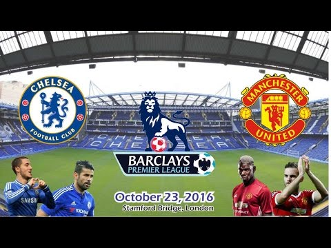 Chelsea vs Manchester United 4-0 All Goals & Highlights 23/10/2016 | Cuplikan Gol - BPL 2016/2017 HD