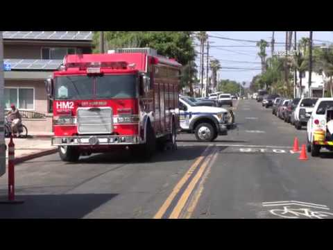 San Diego: Apartment Explosion & Fire 07112018