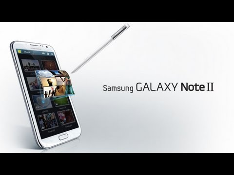 Samsung Galaxy Note II Demo