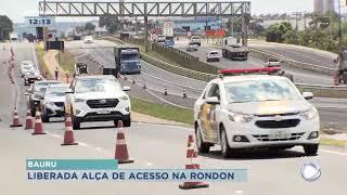 Bauru: trânsito pela marginal em trecho da  Marechal Rondon será liberado