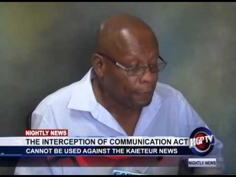 THE INTERCEPTION OF COMMUNICATION ACT 2