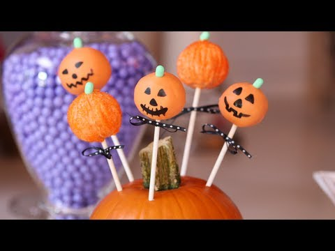 Pumpkin Cake Pops, Halloween Recipes, Yum How To
