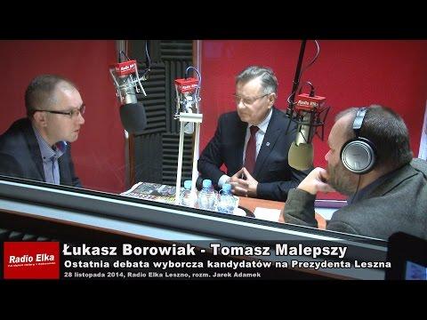 Wideo: �ukasz Borowiak i Tomasz Malepszy w ostatniej debacie prezydenckiej