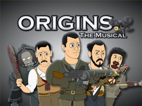 origins - Download Song on iTunes: https://itunes.apple.com/us/album/origins-the-musical-single/id712454745 Video Game Musicals #10: ORIGINS THE MUSICAL Tank, Takeo, N...