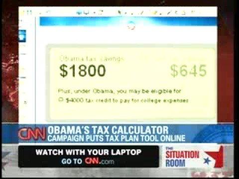 Obama Tax Calculator