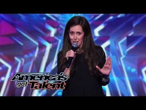 Wendy Liebman: Female Comedian Jokes About Her Marriage – America's Got Talent 2014
