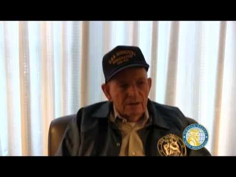 USNM Interview of Calvin Batley Part Three Returning home and decommissioning of the USS Missouri