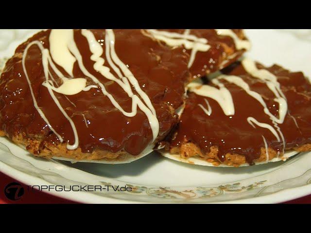 Pfefferkuchen auf Oblaten nach dem Rezept von Oma Walli   Backrezepte Topfgucker-TV