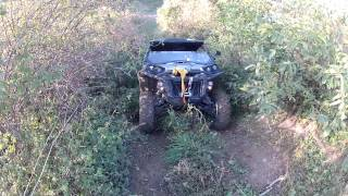 9. Can am Commander 1000 LTD Visco-Lok front differential testing