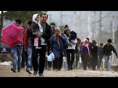 Ρεκόρ αφίξεων μεταναστών σε Ελλάδα και Fyrom τη Δευτέρα