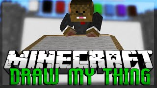 Minecraft Build It (Draw My Thing) Minigame