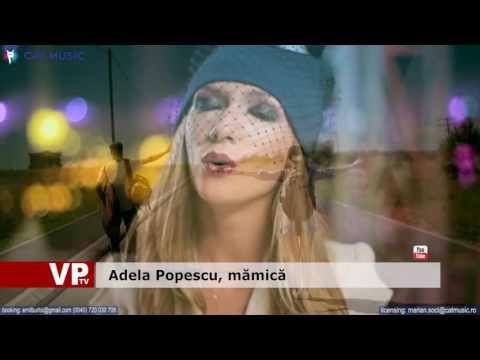 Adela Popescu, mămică