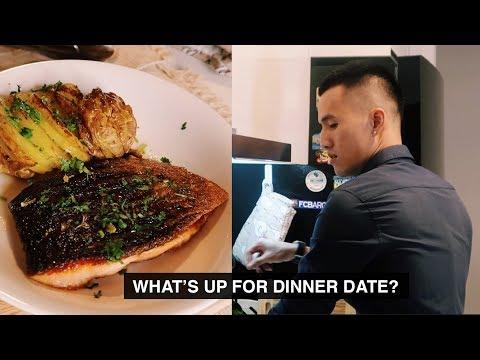 CÁ HỒI FUSION CHO BỮA TỐI HẸN HÒ | Anh bạn thân Cooking | Vlog - Thời lượng: 11:41.