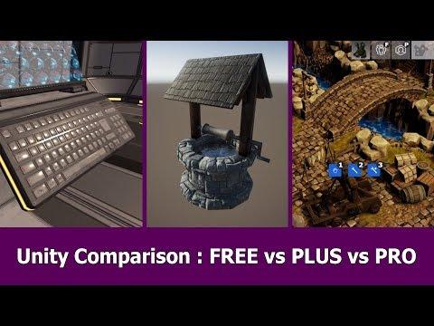 Unity Pro vs Free