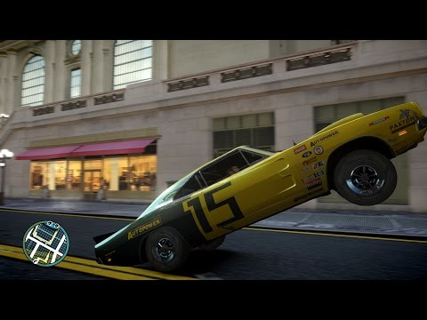 Grand Theft Auto IV - Dodge Charger R/T 1969 #Gta IV