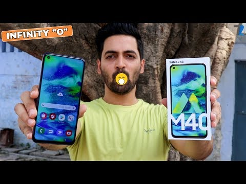 Samsung Galaxy M40 - Unboxing & Hands On | Should You Buy It??🤔