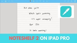"Video Noteshelf 2 on iPad Pro (10.5"") MP3, 3GP, MP4, WEBM, AVI, FLV Juli 2018"
