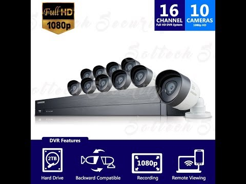 Samsung SDH C75100 16 Channel 1080p HD 2TB Security System with 10 Cameras Reviews