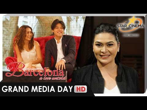 'Barcelona' | Aiko sees herself in Kathryn, holds high regard for Daniel | Grand Media Day