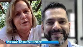 Conheça o idoso de 103 anos que passa pela segunda epidemia