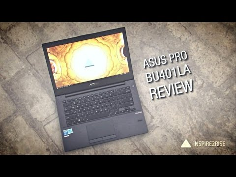 ASUS Pro BU401LA-CZ180G review with unboxing [+GAMING]
