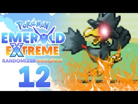 WHY MURKROW!?! TERRIBLE LUCK!! | Pokemon Emerald EXTREME Randomizer Nuzlocke Part 12