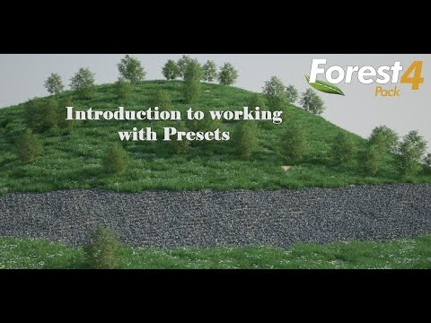 Working with Presets and Custom Placement in Forest Pack Pro