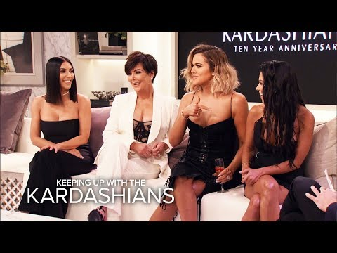 """KUWTK   OMG! Moments From the """"Kardashians 10th Anniversary Special""""   E!"""