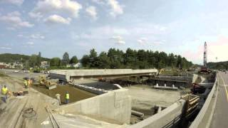 Hartford Slide Bridge Timelapse
