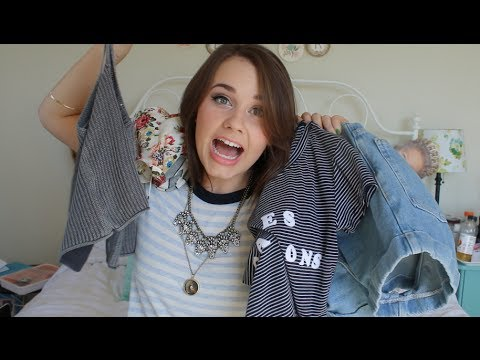 haul - Today I'm showing you a lot of shirts. Yeah. Also I was definitely out of it when I filmed this because I was shaking my head in embarrassment the entire tim...