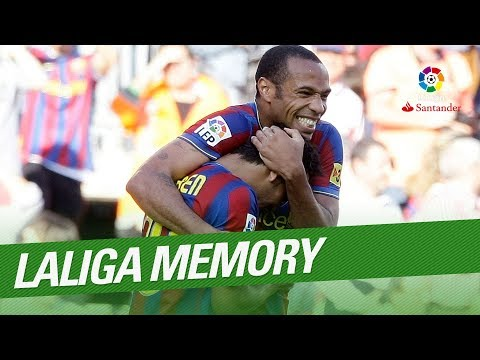 LaLiga Memory: Thierry Henry Best Goals And Skills