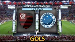 Curta - https://www.fb.com/OsGolsHD Siga - https://twitter.com/OsGolsHD Flamengo 2 x 0 Cruzeiro - Brasileirão 10/09/2015.