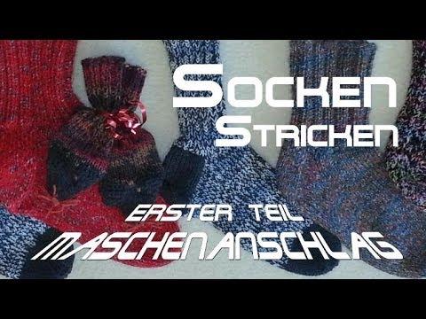 Maschenanschlag – Socken Stricken – Anleitung – mit Christine