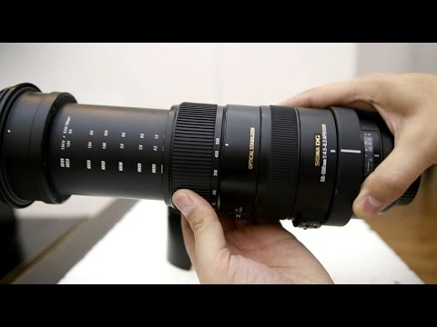 Sigma 50-500mm f/4.5-6.3 OS HSM lens review with samples (APS-C and full-frame)