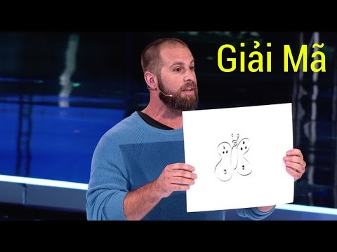 Giải mã ảo thuật đoán tranh vẽ giám khảo của Jon Dorenbos tại America's Got Talent