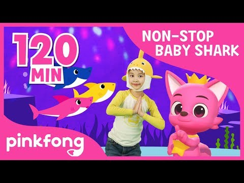 Baby Shark Medley | +Compilation | Baby Shark | Pinking Songs for Children - Thời lượng: 2:10:35.