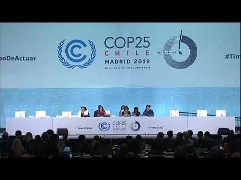 Μαδρίτη: «Παράταση» πήρε η Διάσκεψη Κορυφής για την Κλιματική Αλλαγή…