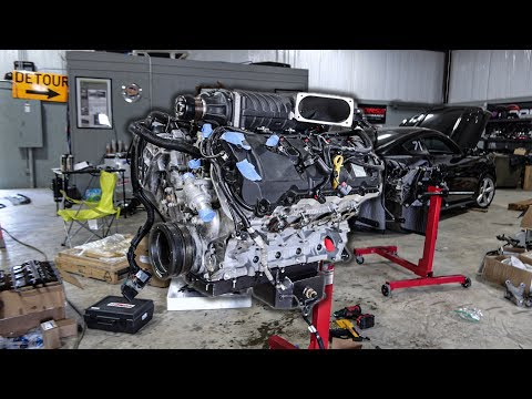 Finishing Satan's 1,500hp Coyote Engine | Supercharger Install