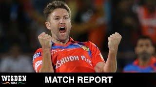 Tye hat-tricks Gujarat to win