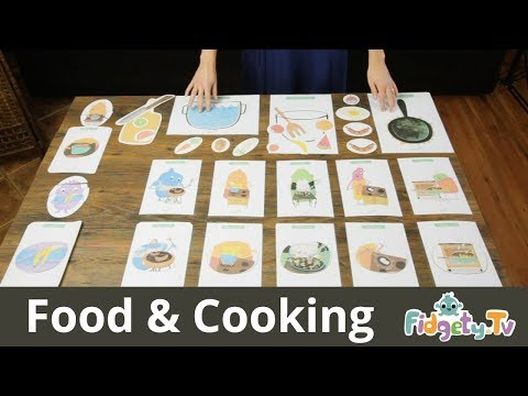 ESL Teacher: Food & Cooking Flashcards [Overview & Tutorials]