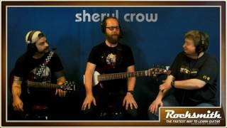 """In this week's pre-recorded stream, the team plays all three tracks from the Sheryl Crow song pack, including """"Soak Up the Sun,"""" """"If it Makes You Happy,"""" and """"My Favorite Mistake."""" We also take a look back at Tom Petty's """"I Won't Back Down.""""  -- Watch live at https://www.twitch.tv/rocksmithgame"""