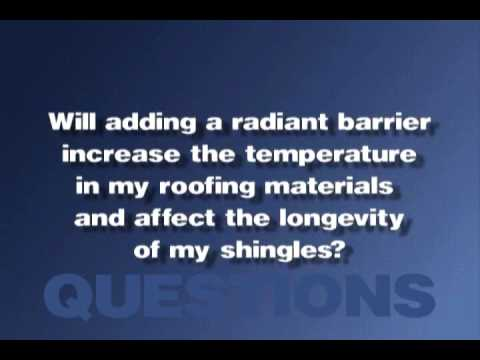 Radiant Attic Barrier Video
