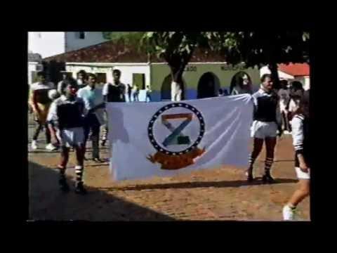 Desfile 7 de Setembro anos 90 Jaborandi Bahia