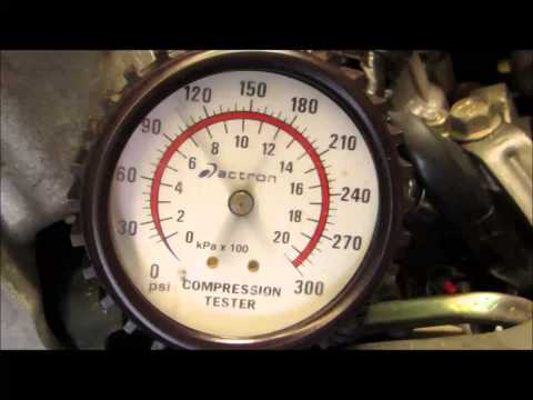 EJ20 TURBO COMPRESSION TEST